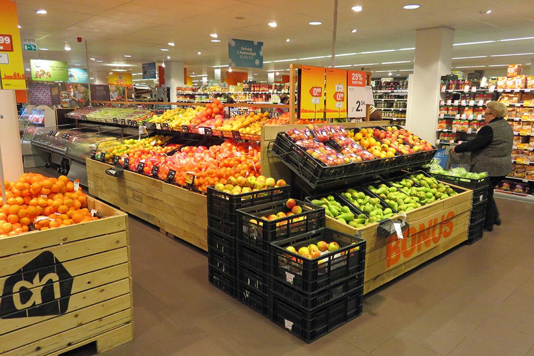 Omzet via supermarkten gestegen in coronatijd. Daar profiteert Greenyard van. - Foto: Ton van der Scheer