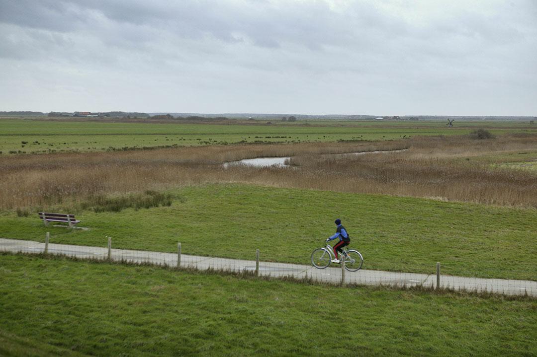 Texels landschap. Foto: Jan Willem Schouten