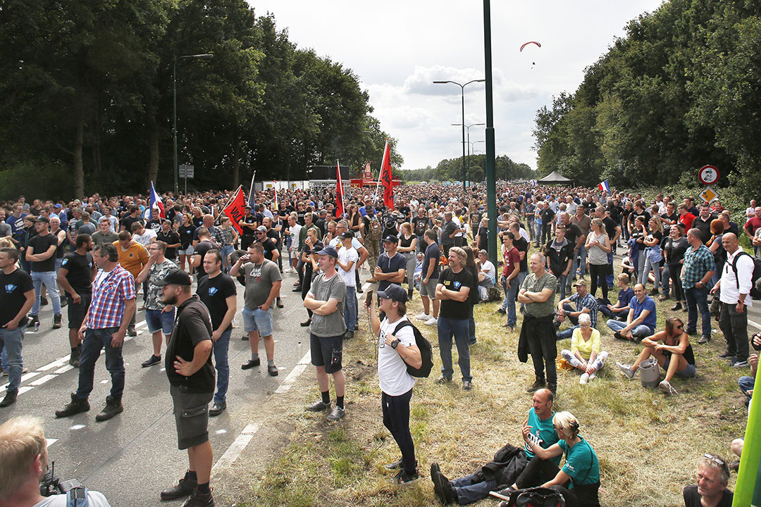 Boerenprotestactie woensdag 22 juli 2020. Foto: Ton Kastermans Fotografie