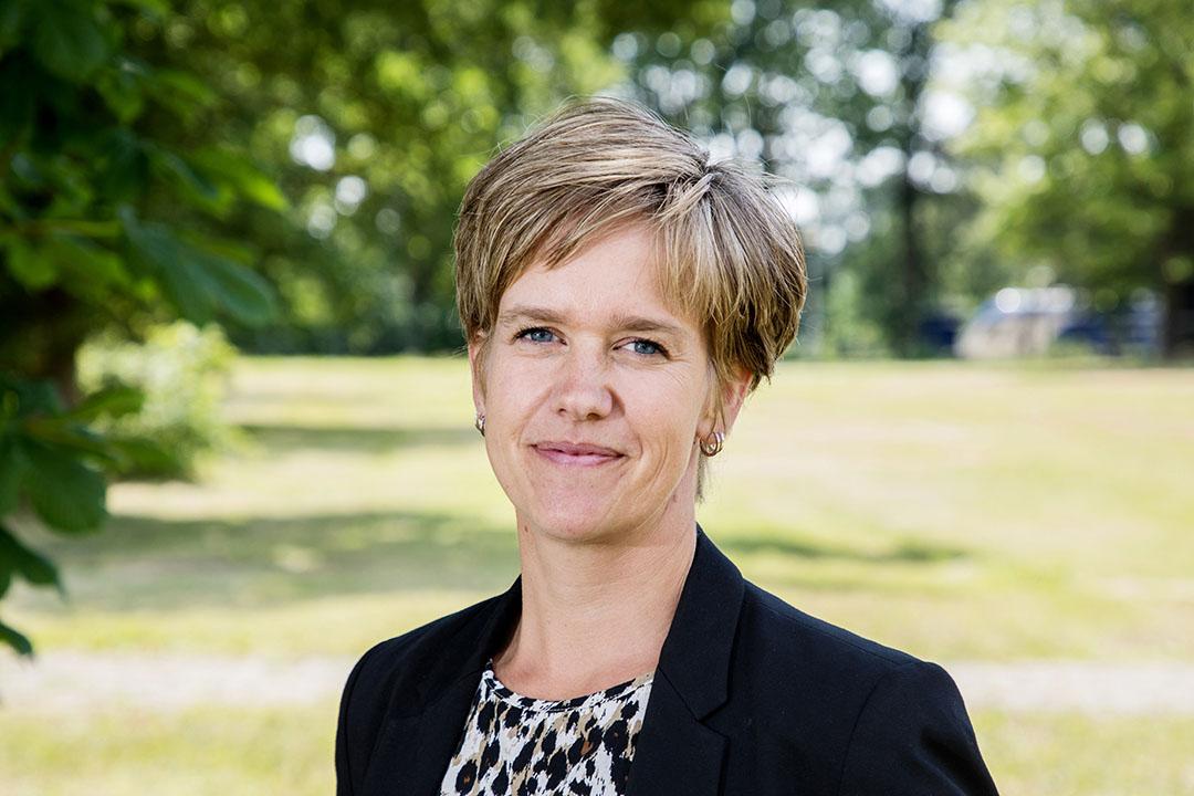 POV-voorzitter Linda Janssen. - Foto: Herbert Wiggerman