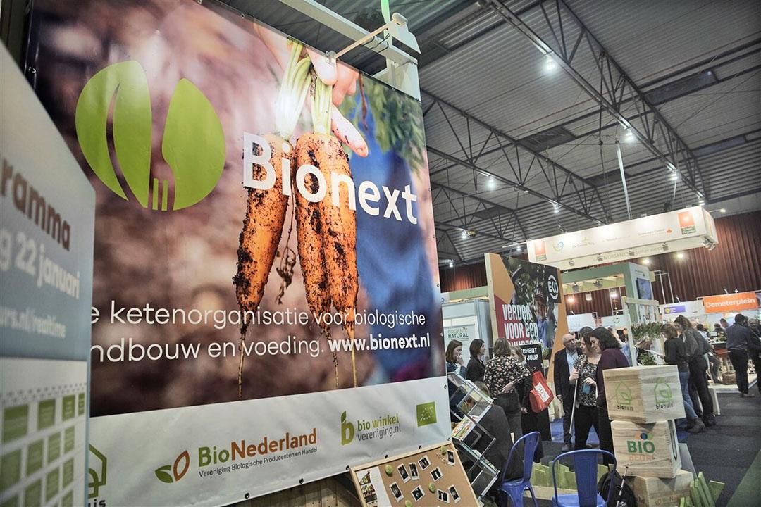 Bionext op de Biobeurs in Zwolle afgelopen januari. Foto: ANP