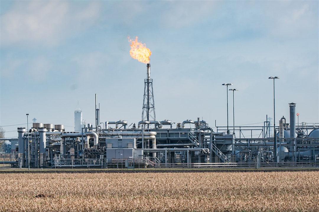 Gaswinningslocatie van de NAM in Groningen. - Foto: ANP