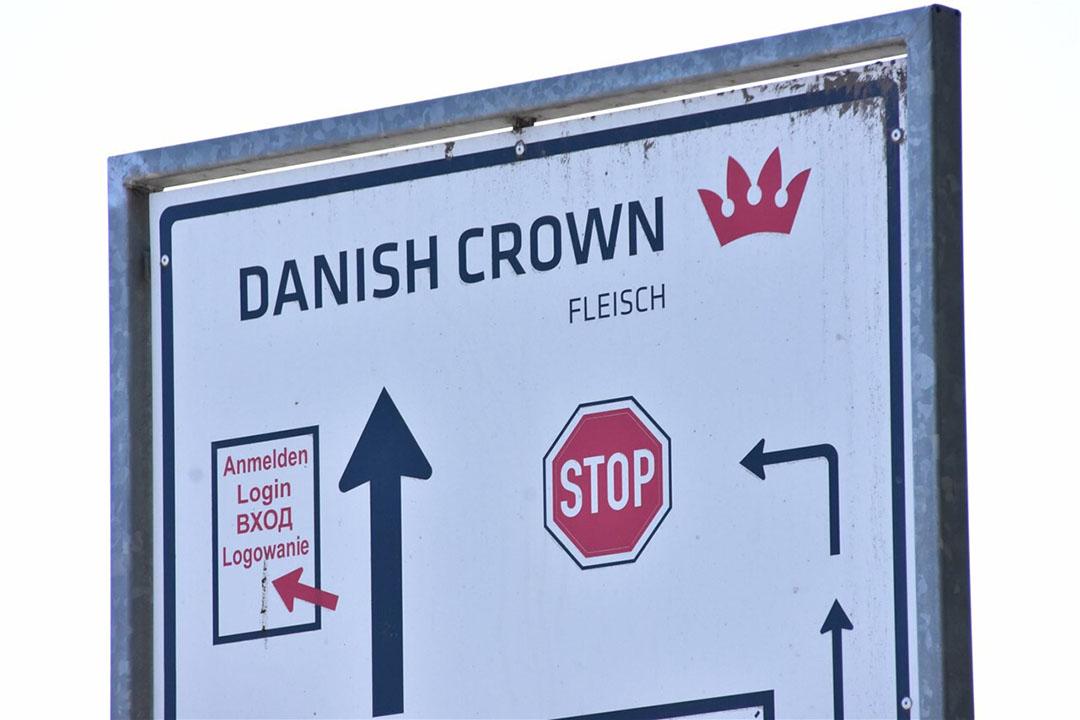 Krone-Feinkost ligt vlak naast de slachterij van Danish Crown in Essen in Nedersaksen, beter bekend als Essen/Oldenburg. - Foto: ANP