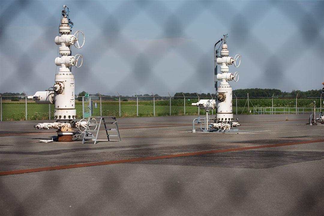Aardgaswinning. - Foto: ANP