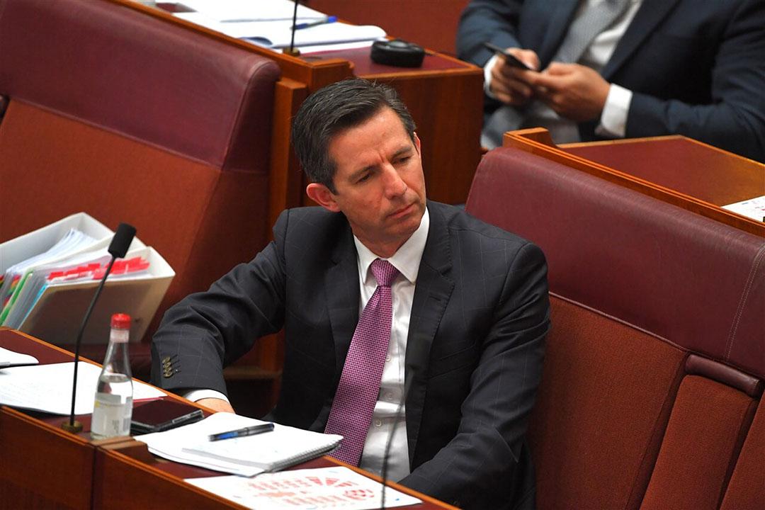 De Australische handelsminister Simon Birmingham maakt eerder duidelijk dat Australië hard werkt aan nieuwe exportmarkten. - Foto: ANP