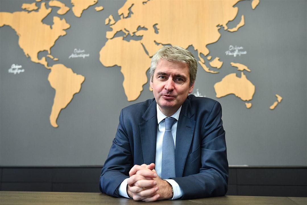 Emmanuel Besnier, CEO van Lactalis. - Foto: AFP