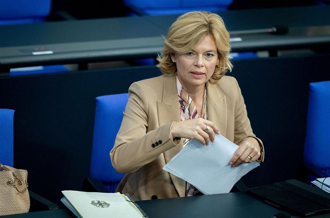 De Duitse landbouwminister Julia Klöckner. - Foto: DPA
