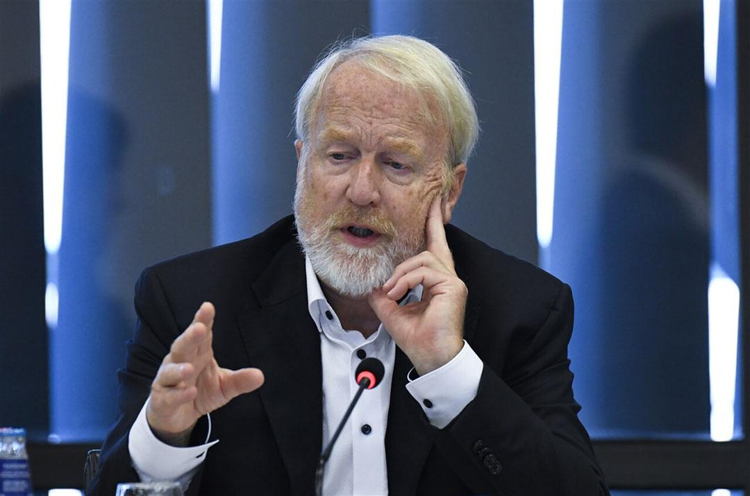 RIVM-voorman Jaap van Dissel, tijdens een technische briefing in de Tweede Kamer. - Foto: ANP / Peter Hilz