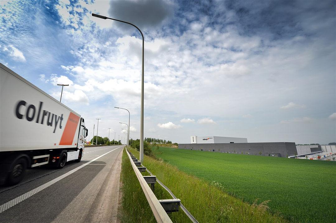 Colruyt wil eigen grond inzetten voor de bevoorrading van zijn eigen winkels. - Foto: ANP/Belga Photo