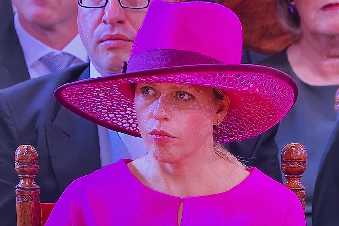 Landbouwminister Carola Schouten tijdens de troonrede vorig jaar. - Foto: Misset