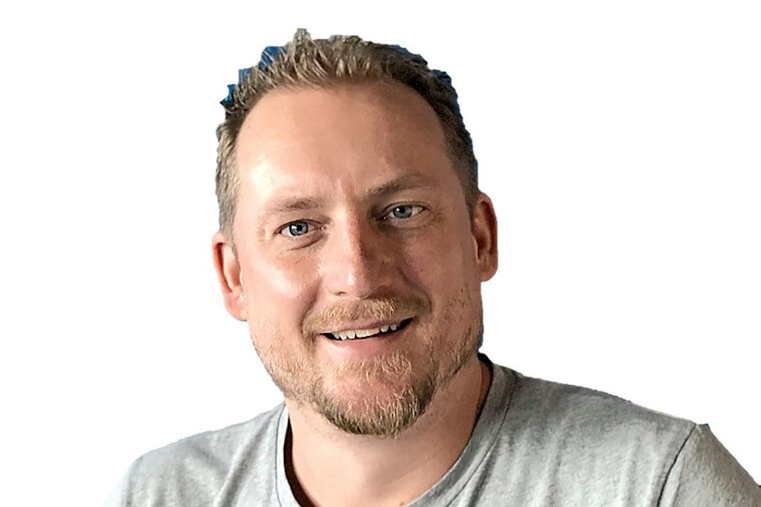 Martijn Lukaart (40) wil in 2025 1.000 wiedrobots aan het draaien hebben. Foto. Odd.Bot
