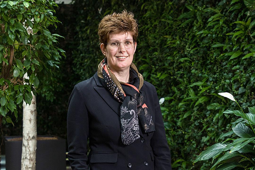 """""""We zien fors meer potentie in verduurzaming door een beleid dat doelstellingen formuleert"""", aldus Rabobank-directeur Food & Agri Nederland, Carin Van Huët. - Foto: Herbert Wiggerman"""