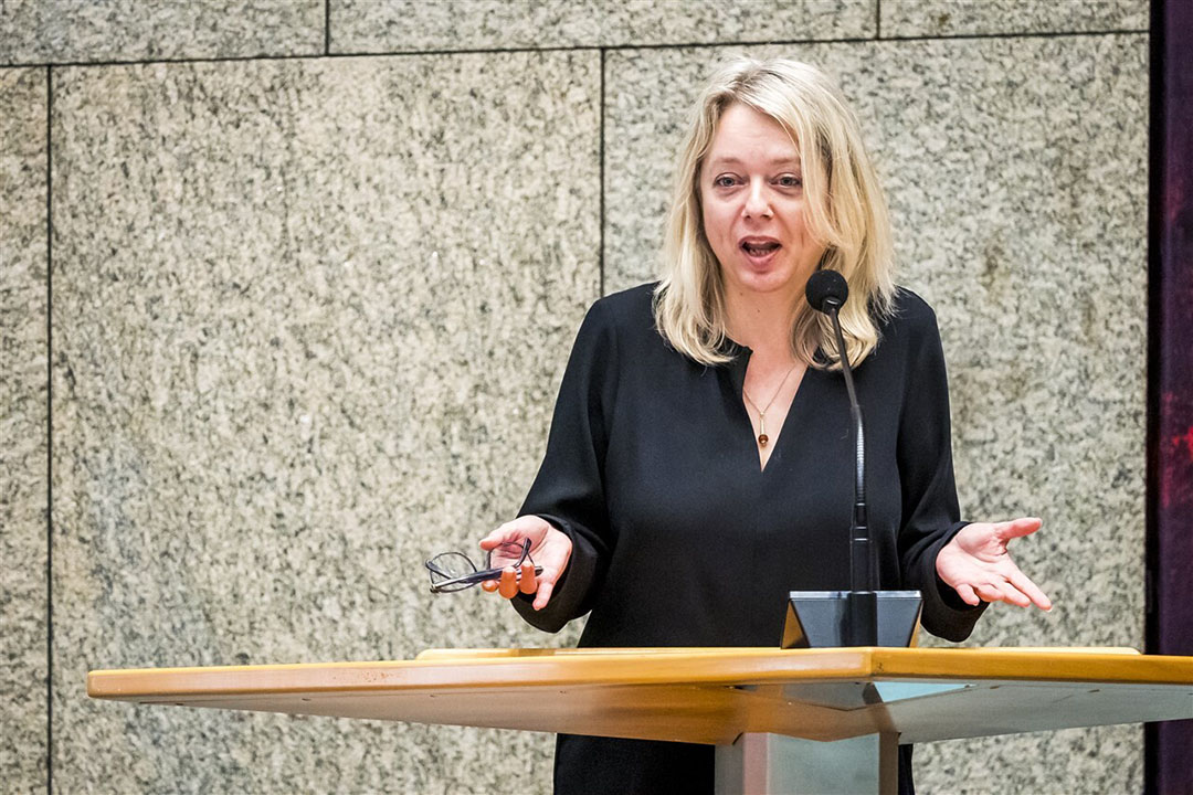 CDA-Kamerlid Agnes Mulder. - Foto: Lex van Lieshout via ANP