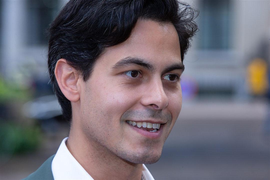 D66-fractievoorzitter Rob Jetten. - Foto: ANP