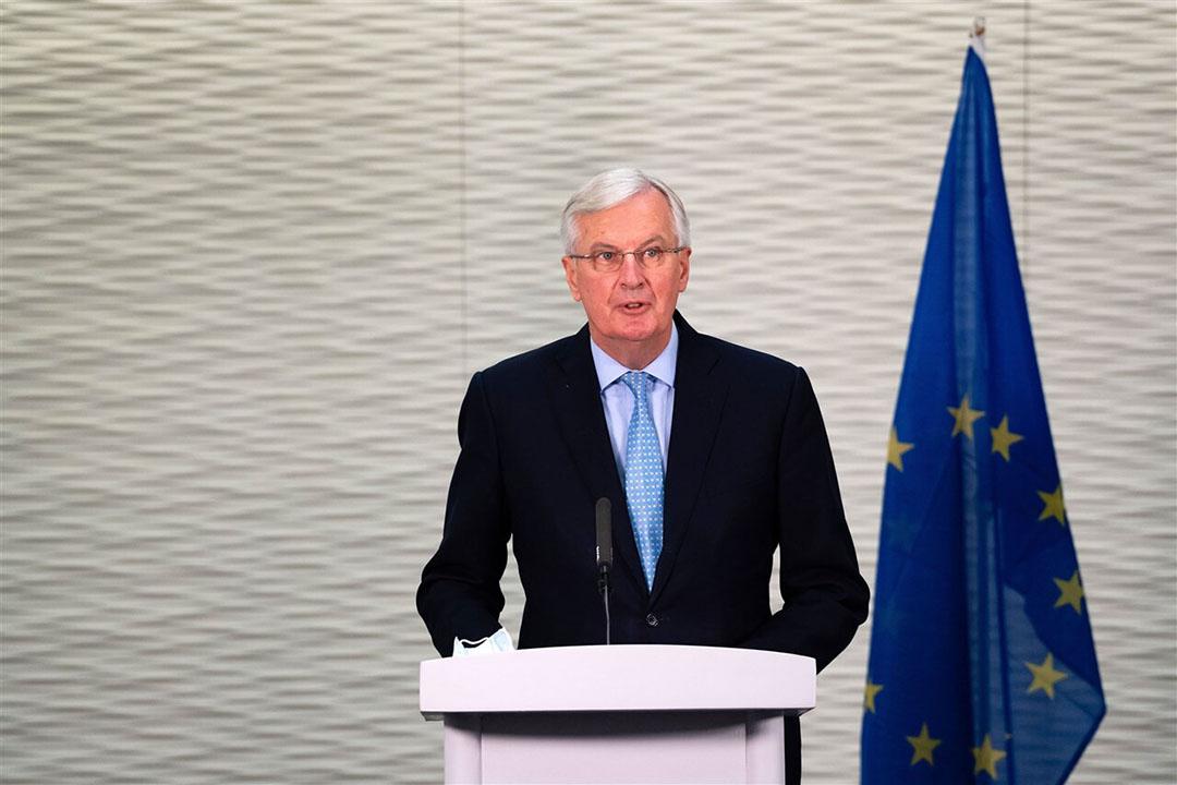 Onderhandelaar aan EU-kant Michel Barnier. Foto: ANP