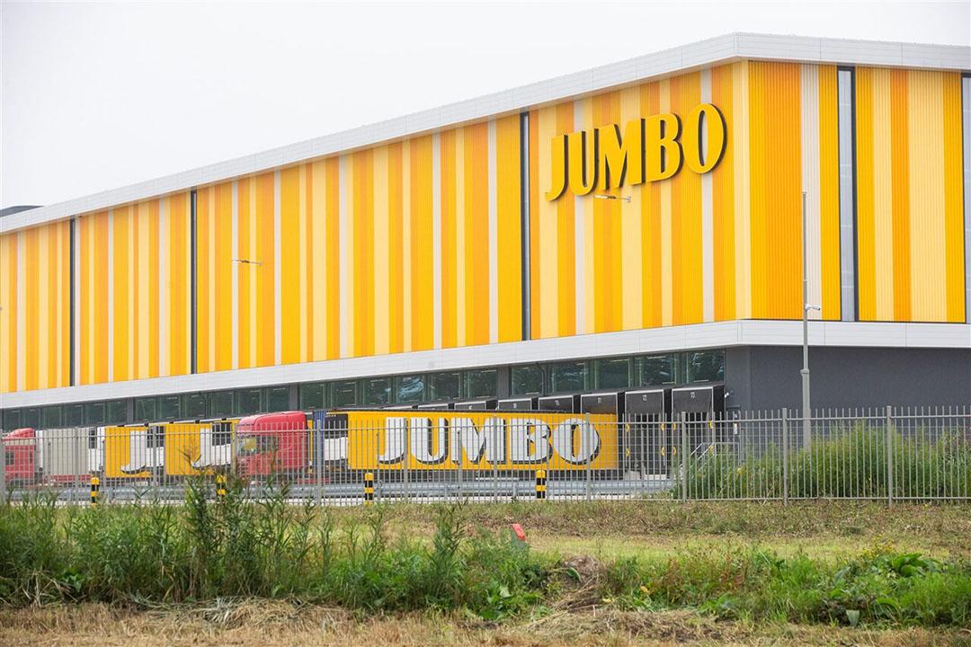 Distributiecentrum van Jumbo in Nieuwegein. Foto: ANP