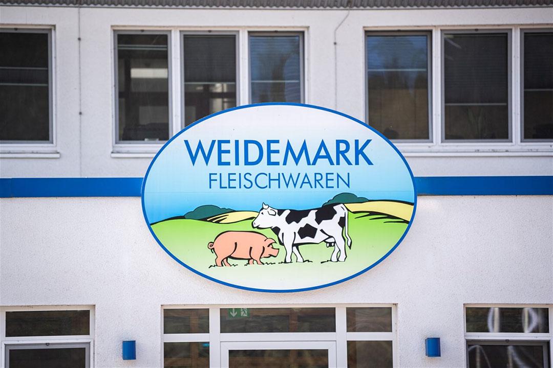 De sluiting van slachterij Weidemark in het Duitse Sögel is voor maximaal drie weken. Foto: ANP