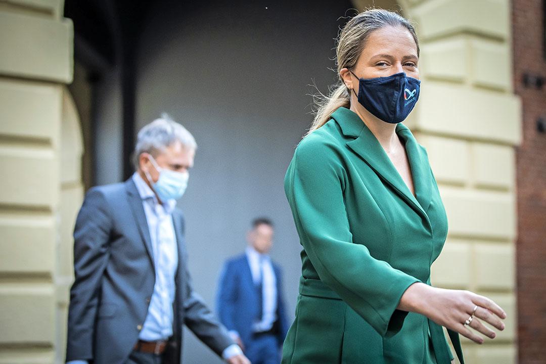 Minister van landbouw Carola Schouten wil dat haar stikstofwet zo snel mogelijk wordt behandeld. - Foto: ANP