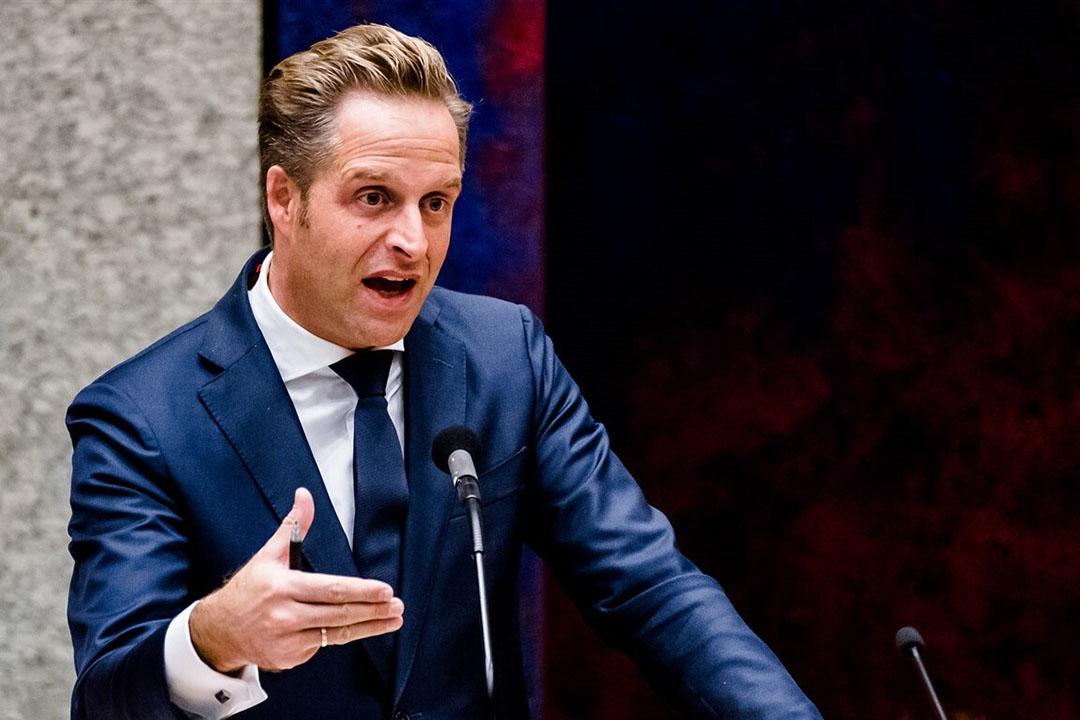 Hugo de Jonge, minister van volksgezondheid. Foto: ANP
