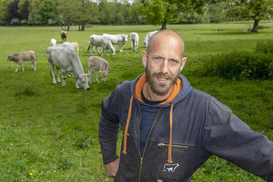 Vleesveehouder en LTO-bestuurder Wouter Hartendorf. - Foto: Cor Salverius Fotografie