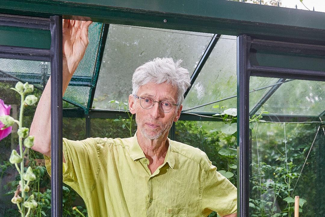 Johan Vollenbroek, voorzitter van MOB, een milieuorganisatie die zich richt op klimaatverandering en biodiversiteit. - Foto: Van Assendelft Fotografie
