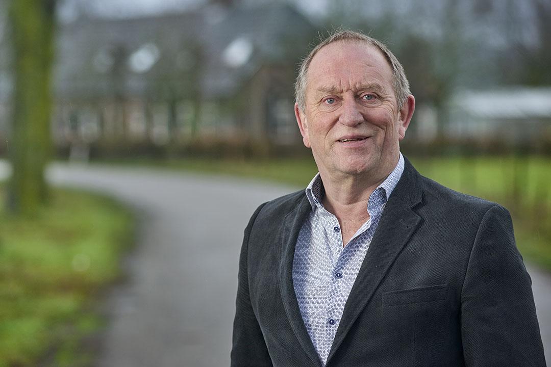 Wim Thus is herbenoemd als LTO-vakgroepvoorzitter kalveren. - Foto: Van Assendelft