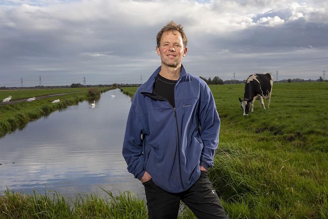 """Mart-Jan Verkaik: """"Aan ons de taak om natuurdoelen te realiseren met behulp van boeren."""" Foto: Roel Dijkstra"""