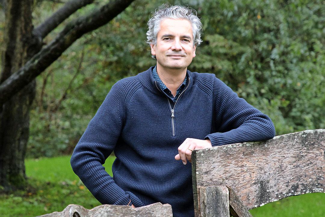Reinier Gerrits (48) is directeur van Meststoffen Nederland, de brancheorganisatie van de Nederlandse kunstmestproducenten, importeurs en distributeurs. Foto: Herbert Wiggerman