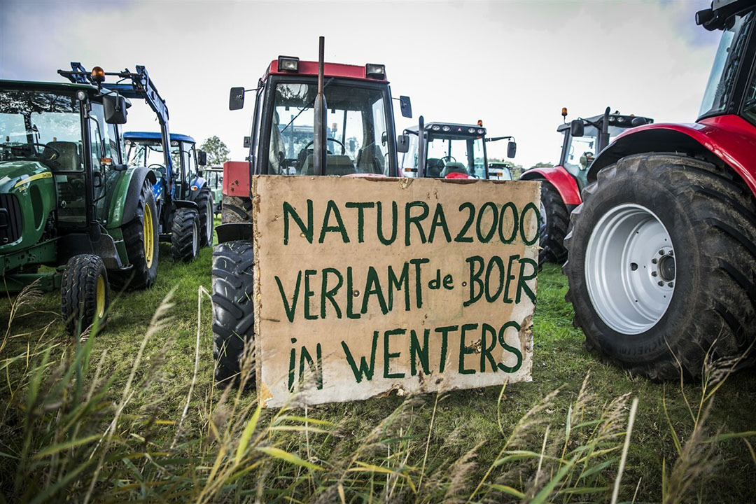 Nieuwe boerenactie in Winterswijk tegen stikstof