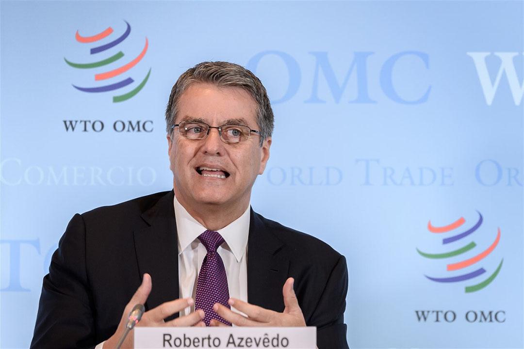 Directeur-generaal van de WTO Roberto Azevedo. Foto: ANP