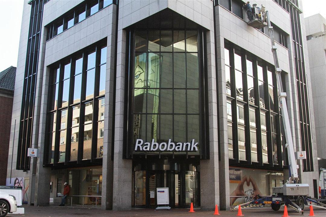 Exterieur van een vestiging van Rabobank in Leeuwarden. Foto: ANP/Hollands Hoogte/Anton Kappers