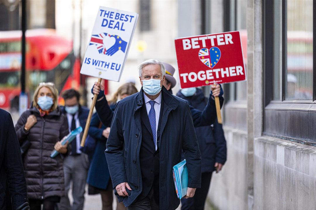 EU-onderhandelaar Michel Barnier. - Foto: ANP