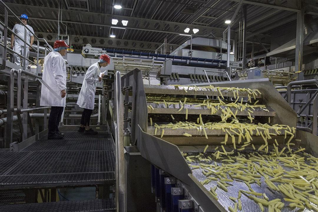 De aardappelverwerkende industrie heeft indirect last van de weer aangescherpte coronamaatregelen en de daardoor gedrukte fritesverkoop. - Foto: ANP