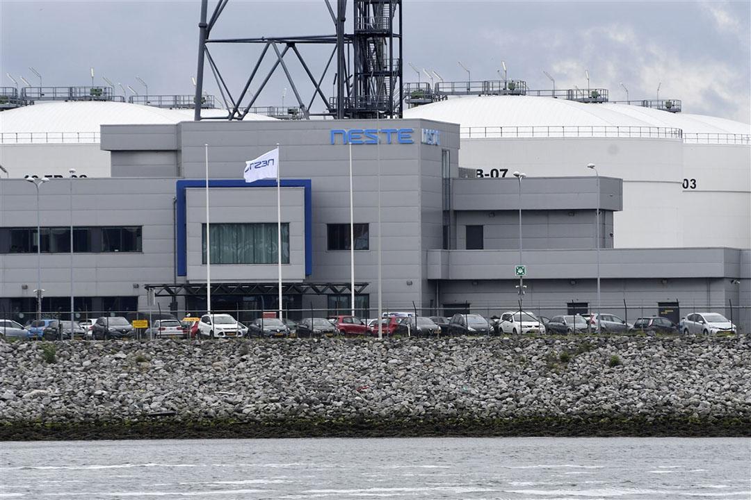 Neste opende in 2011 al een bioraffinaderij in Rotterdam, die is uitgegroeid tot een van de grootste ter wereld. Foto: ANP/Peter Hilz