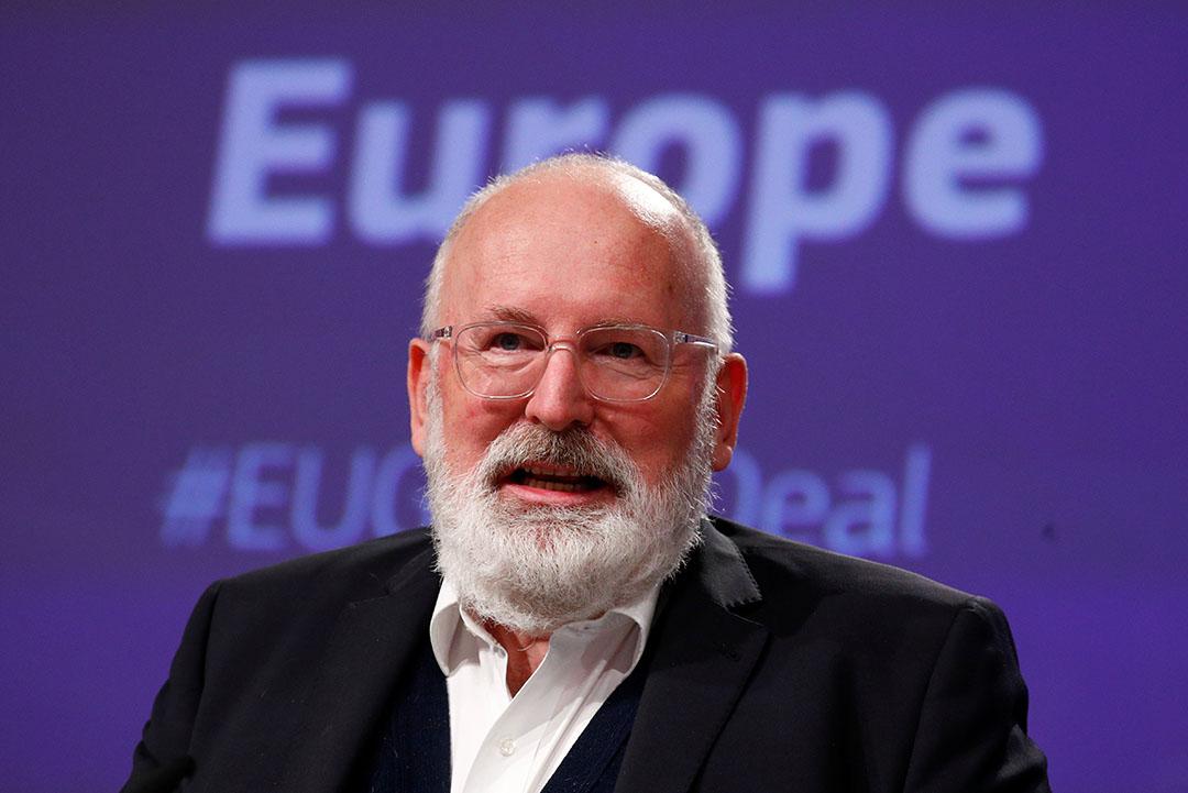 Frans Timmermans. - Foto: Reuters