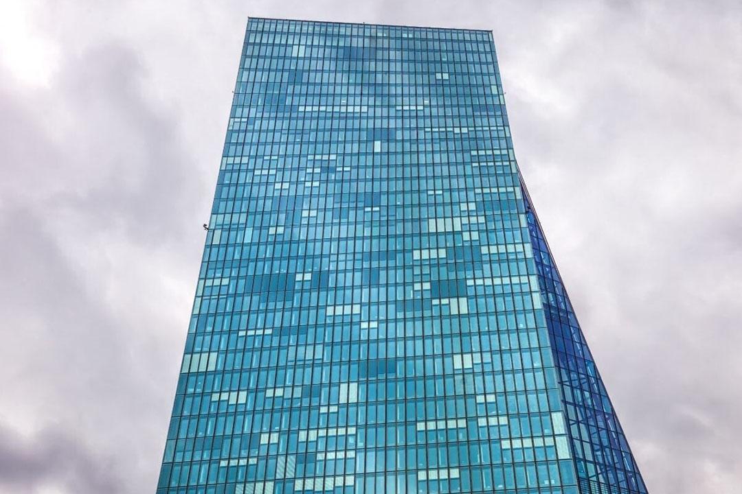 ECB-gebouw in Frankfurt. Foto: Canva