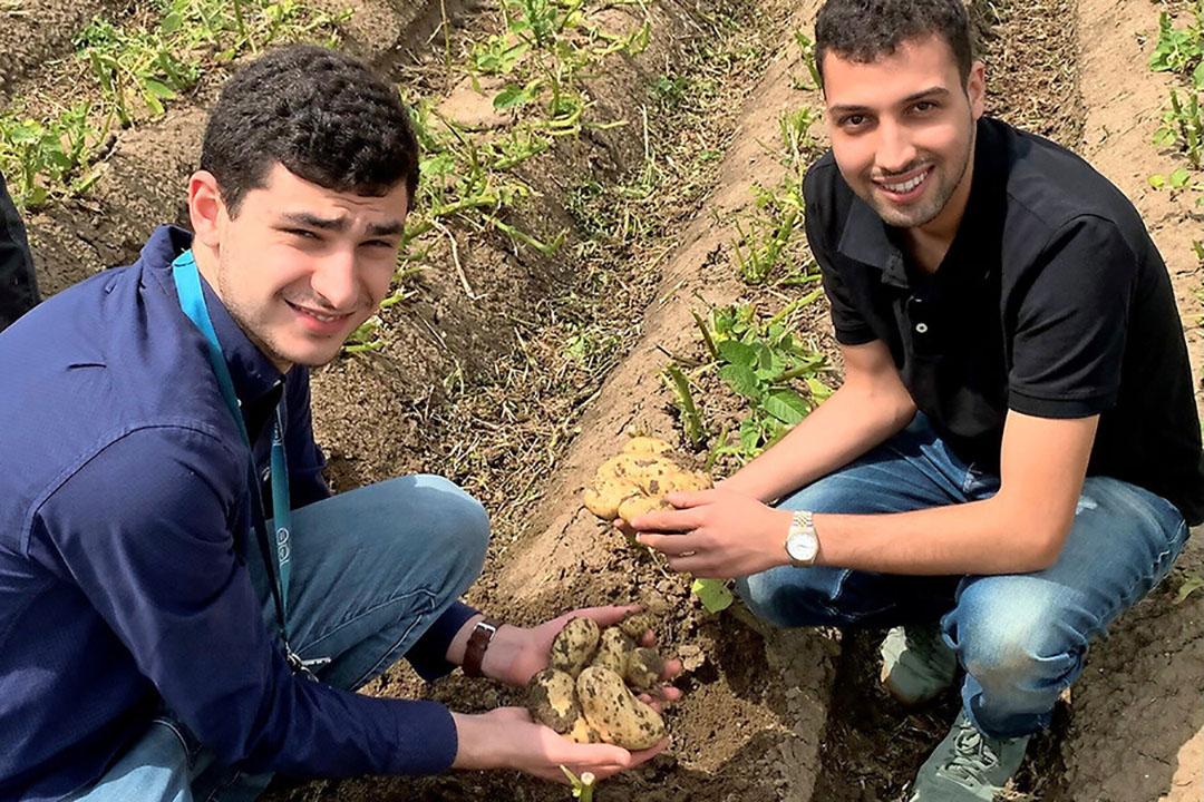 De Oprichters van Delta International: Saad Anwar en Yasin Ramsy. - Foto: Delta International