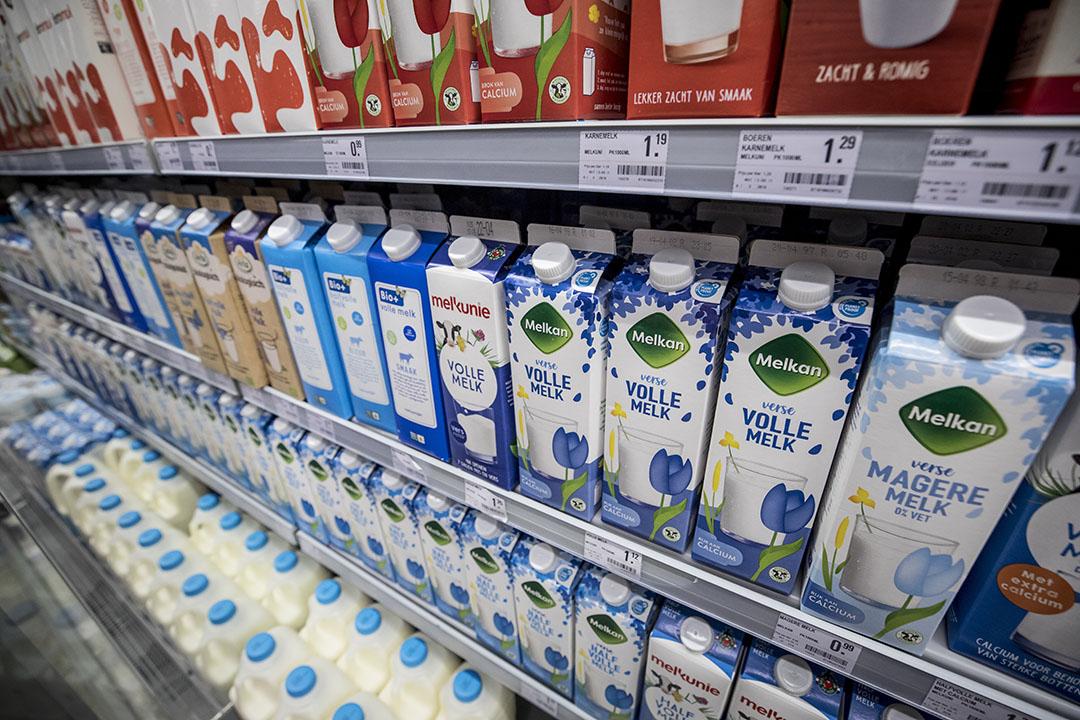 De bestedingen aan duurzame producten stegen het hardst in supermarkten met een toename van 19%. Vooral zuivel en eieren met een keurmerk nam toe met een plus van 81 en 58%. Foto: Koos Groenewold