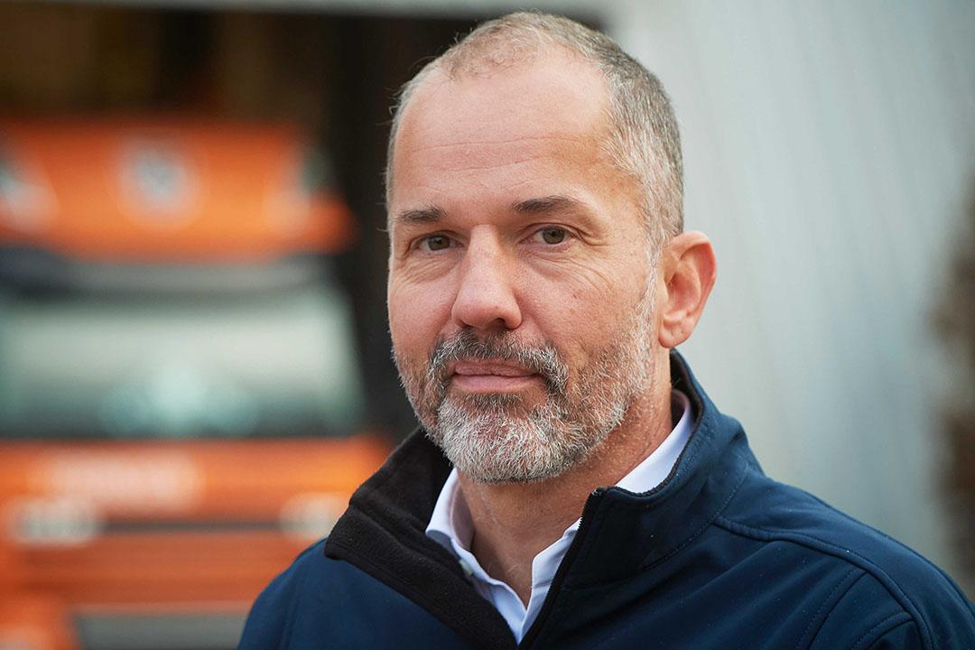 Huub Fransen, directeur van mengvoerbedrijf Fransen Gerrits. - Foto: Wouter van Assendelft