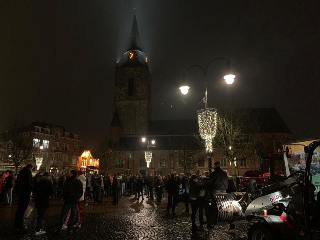 Grote opkomst protest Winterswijk, motie gesteund