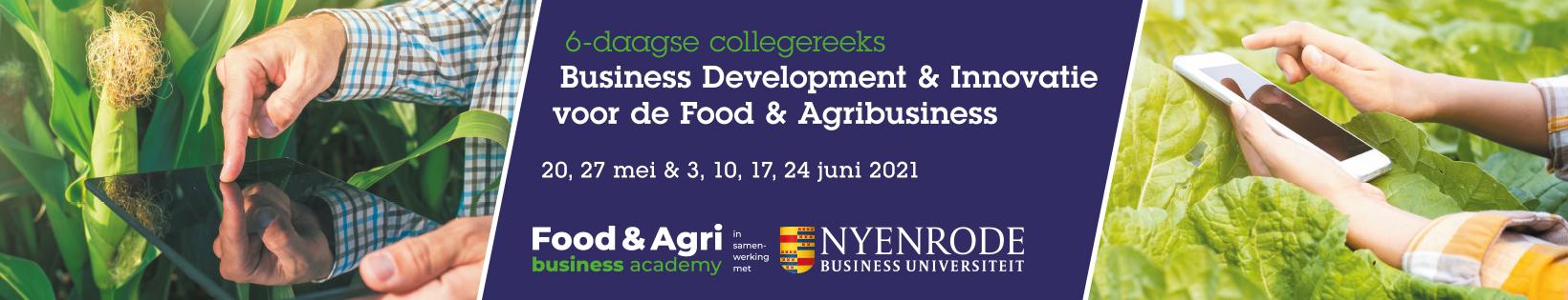 Business Development & Innovatie voor de Food & Agribusiness