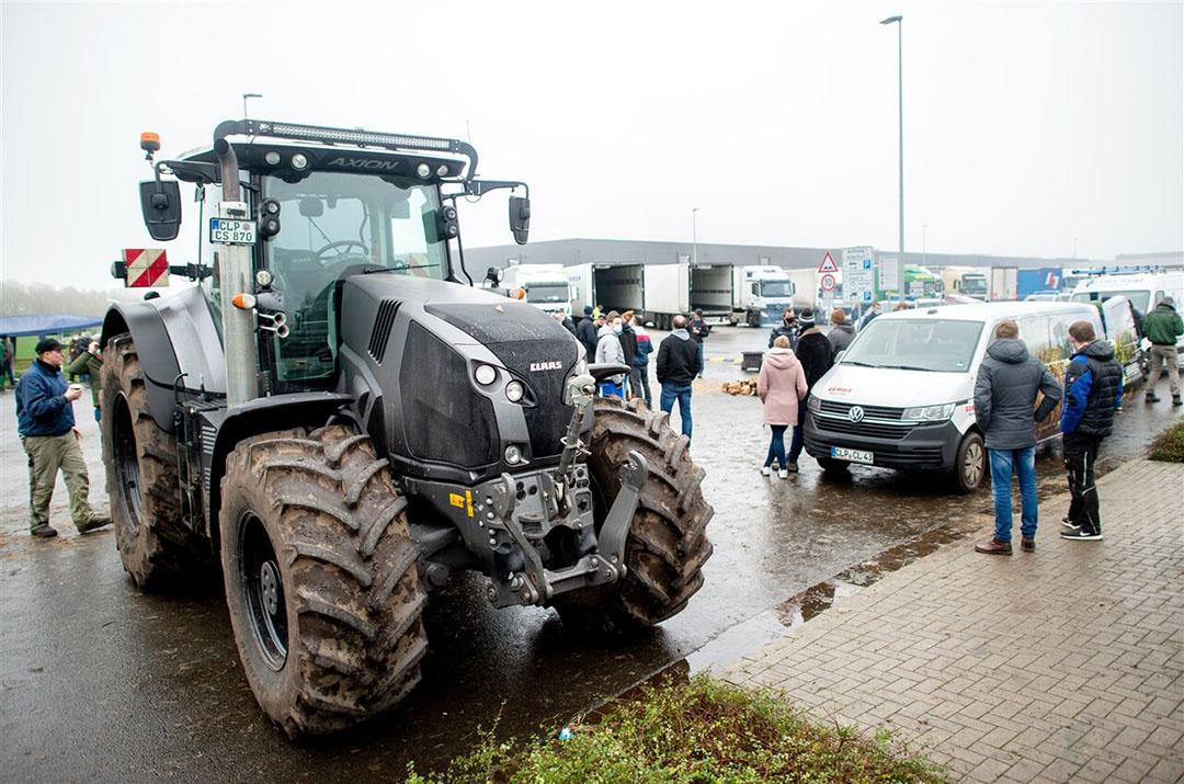 De oproep van Lidl volgt op de boerenblokkades van distributiecentra in Duitsland. Foto: ANP