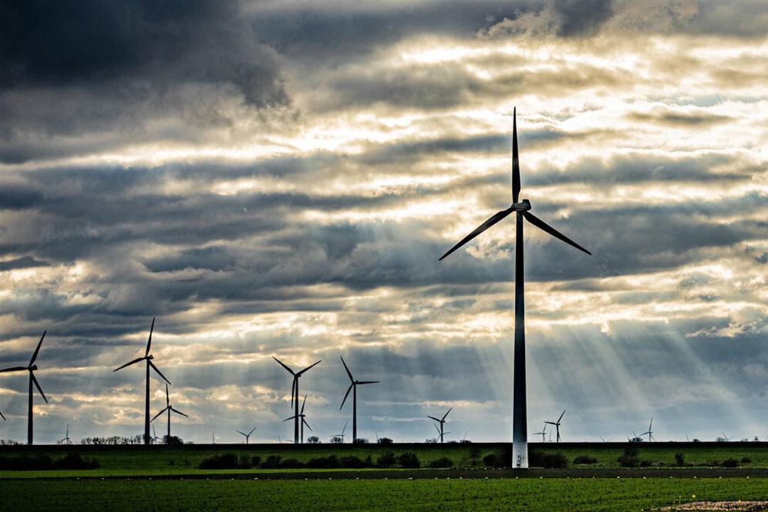 De prijs van kortetermijncontracten voor elektra zijn gestegen als gevolg van de matige aanvoer van wind en de forse vraag naar elektra in Europa.- Foto: ANP