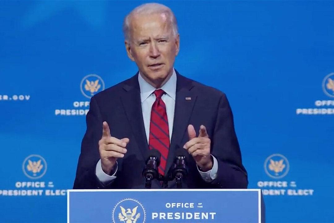 Aankomend president Joe Biden heeft aangekondigd de Amerikaanse economie nog meer te willen steunen. - Foto: ANP