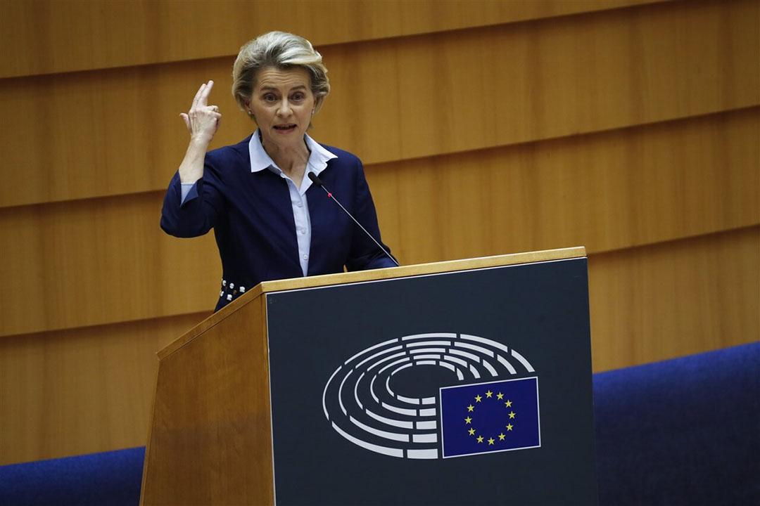 Ursula von der Leyen, voorzitter Europese Commissie. - Foto: ANP