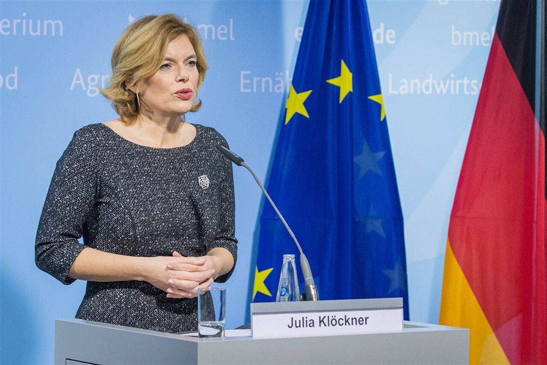 Julia Klöckner, de Duitse minister van landbouw. - Foto: ANP