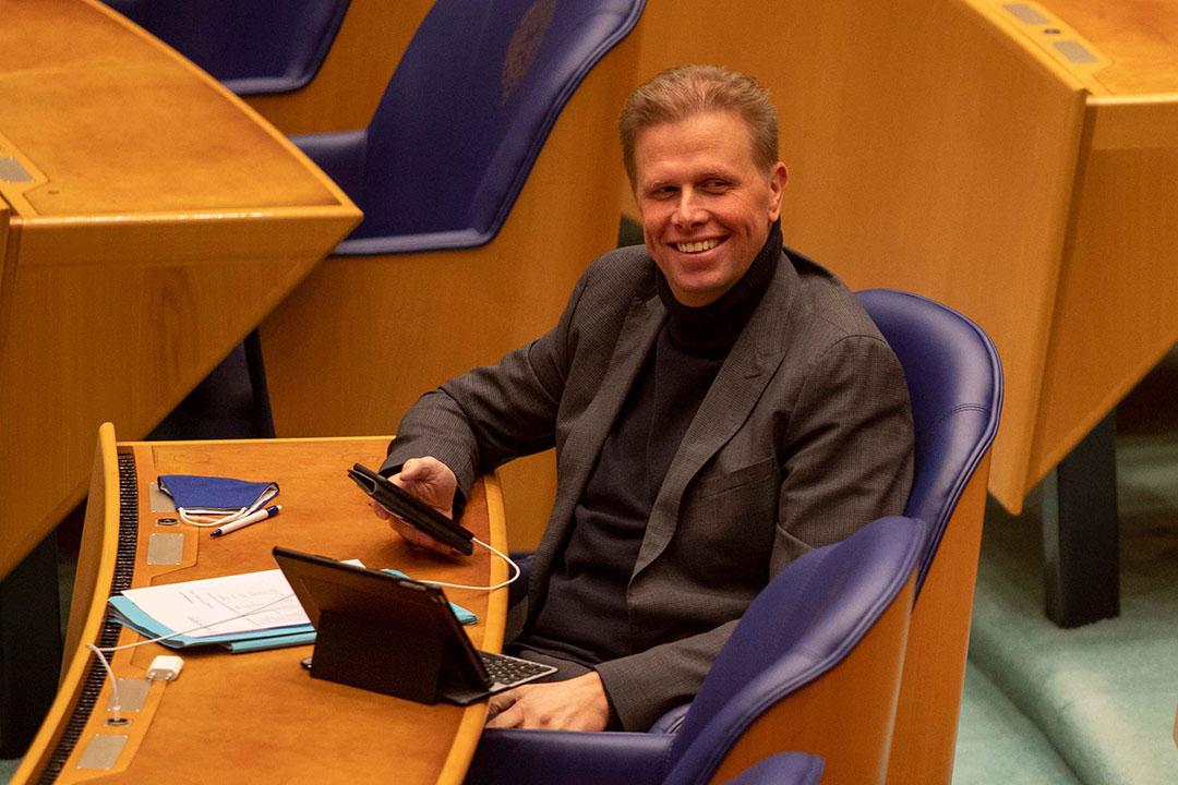 VVD-Kamerlid Arne Weverling. - Foto: Roel Dijkstra