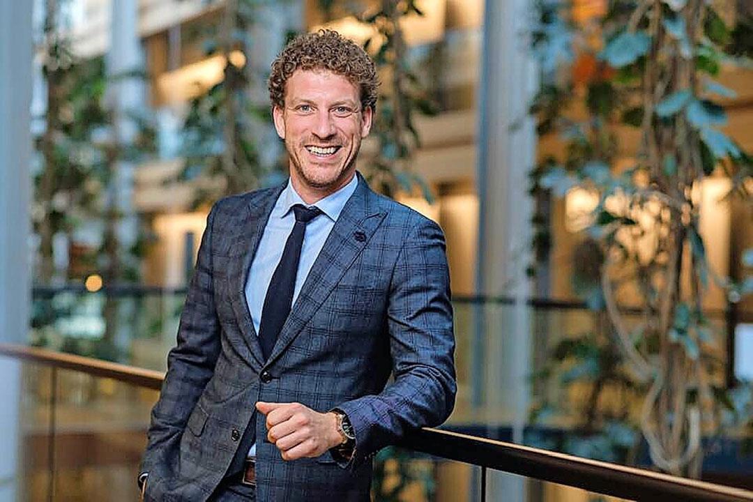 Christophe Vermeulen wordt nieuwe CEO van Belgapom. Foto: Belgapom