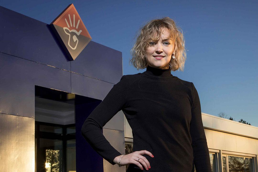 """""""Leuk was anders, een enerverend jaar was het zeker"""", zegt Marijke Everts, directeur Corporate Affairs bij VanDrie Group over 2020. - Foto: Koos Groenewold"""