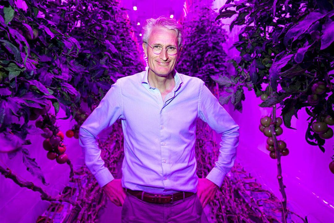 CEO van PlantLab, Michiel Peters. - Foto: Remko de Waal/ANP